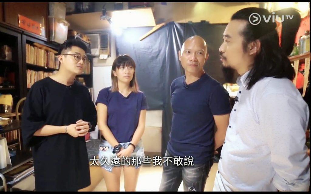 接受ViuTV挑戰,拍攝驅鬼真人Show